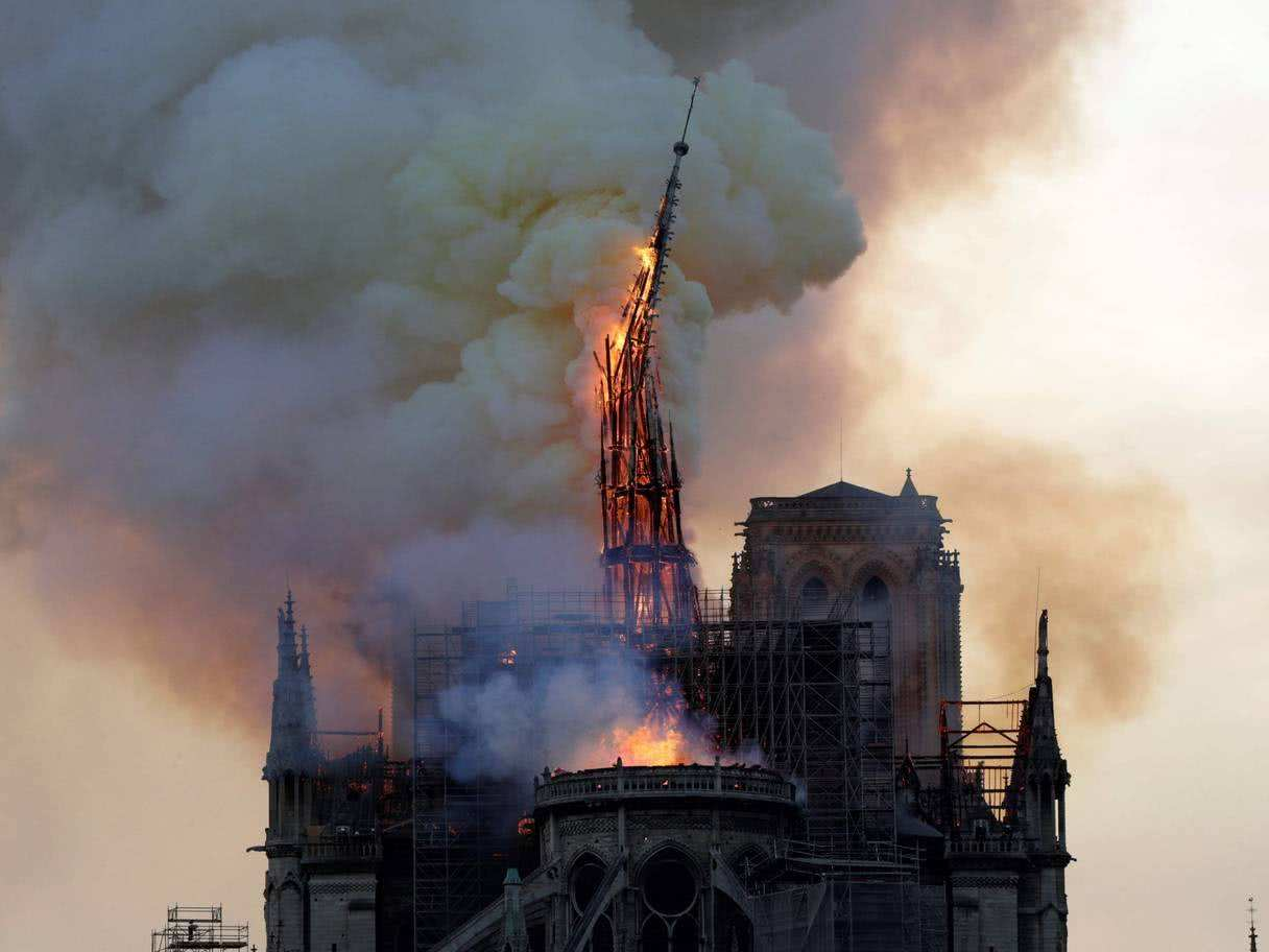 Fire Disaster in Notre Dame - Pay attention to equipment safety